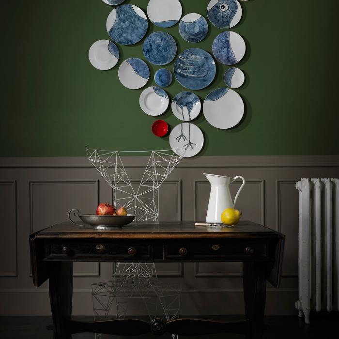 the free bird wall plates non sans raison. Black Bedroom Furniture Sets. Home Design Ideas