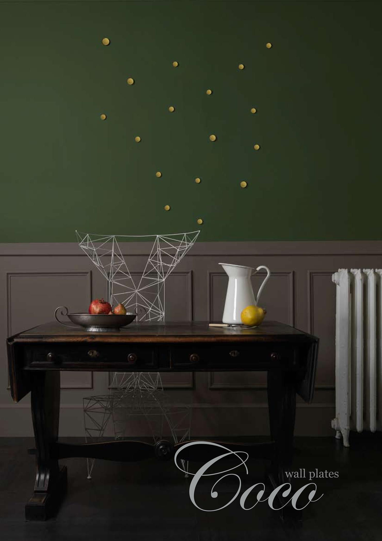 the coco wall plates non sans raison. Black Bedroom Furniture Sets. Home Design Ideas