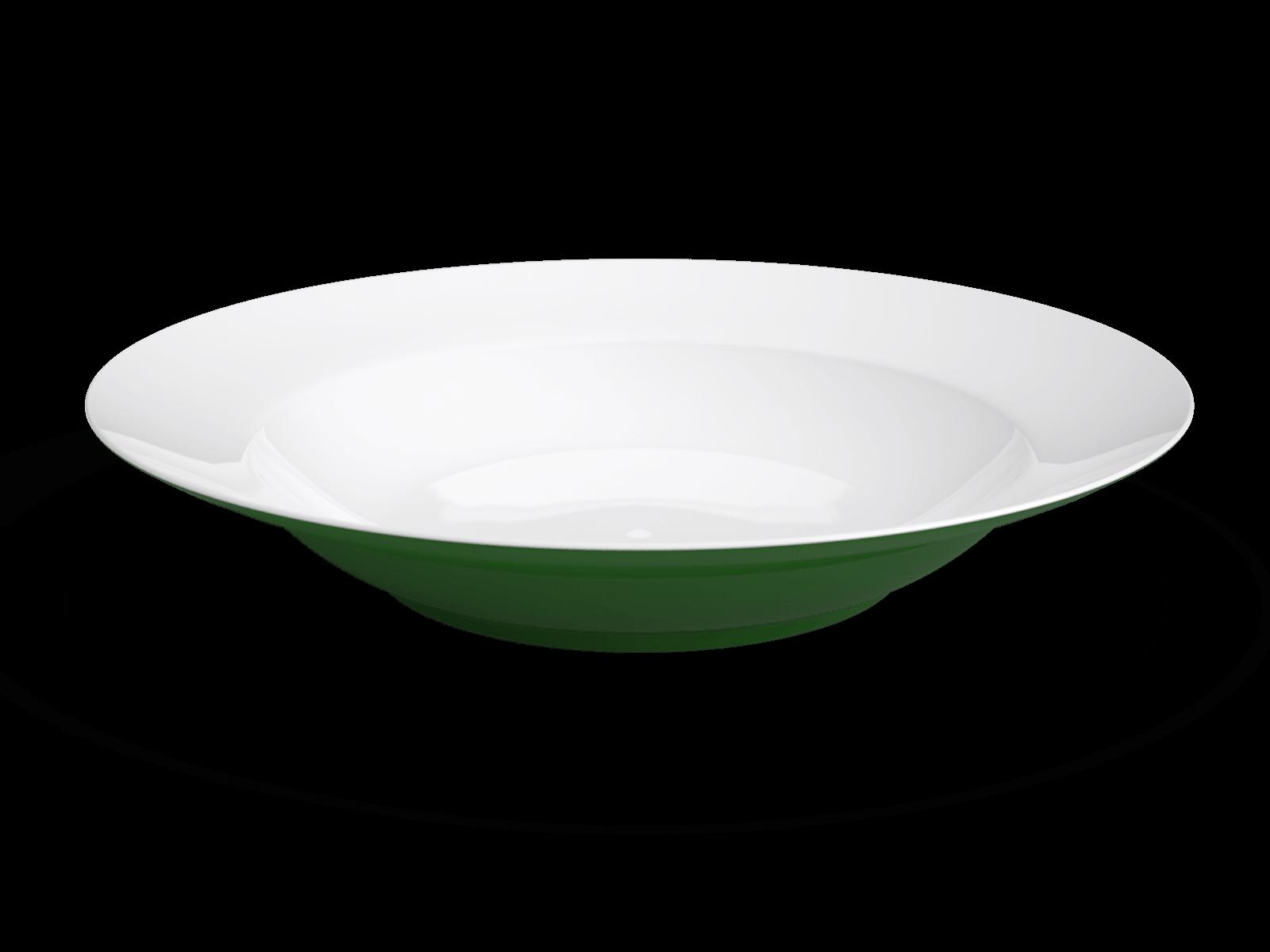 Round Deep Plate Non Sans Raison
