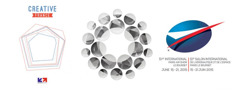 banniere SALON DU BOURGET CREATIVE FRANCE BARILLET WALLPLATES NON SANS RAISON 2015 porcelaine limoges
