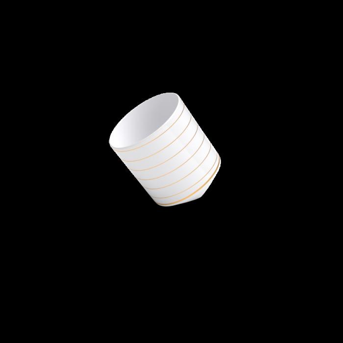 tasse derive or non sans raison porcelaine de limoges