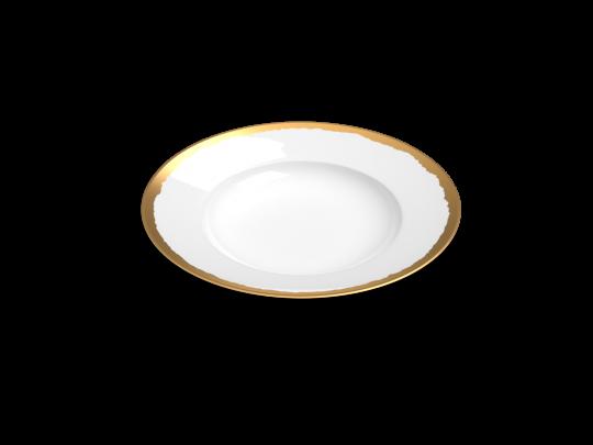 collection odissey assiette or non sans raison porcelaine de limoges
