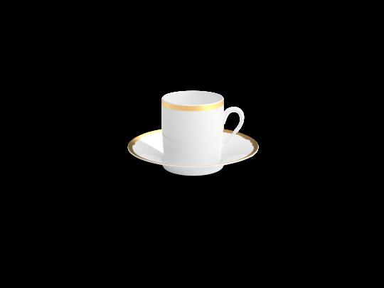 collection odissey tasse cafe or non sans raison porcelaine de limoges