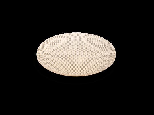 assiette or eye light non sans raison porcelaine de limoges