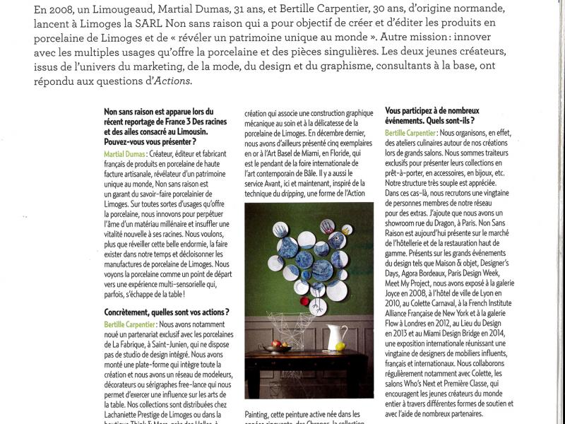Magazine de la CCI Limousin