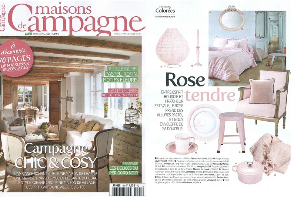 maison romantique magazine abonnement ventana blog. Black Bedroom Furniture Sets. Home Design Ideas