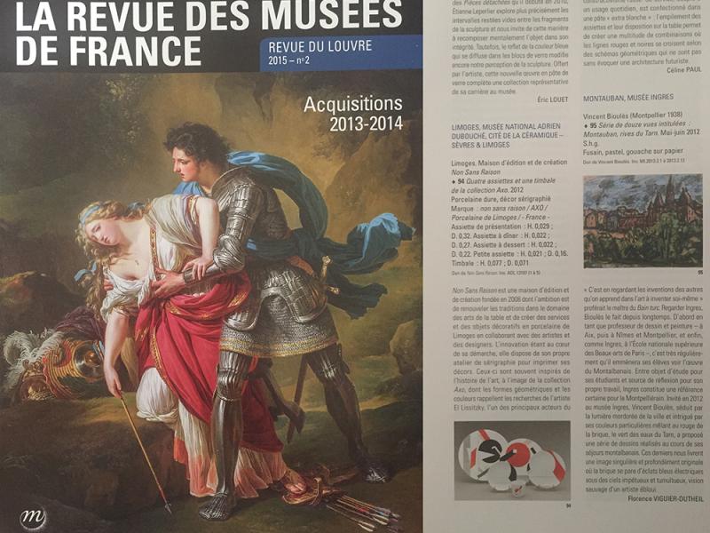 La Revue des Musées Nationaux