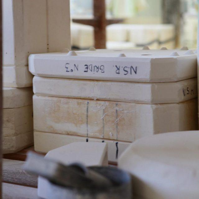 Our modeling studio mould plaster porcelainedelimoges ceramics knowhow design nonsansraisonhellip