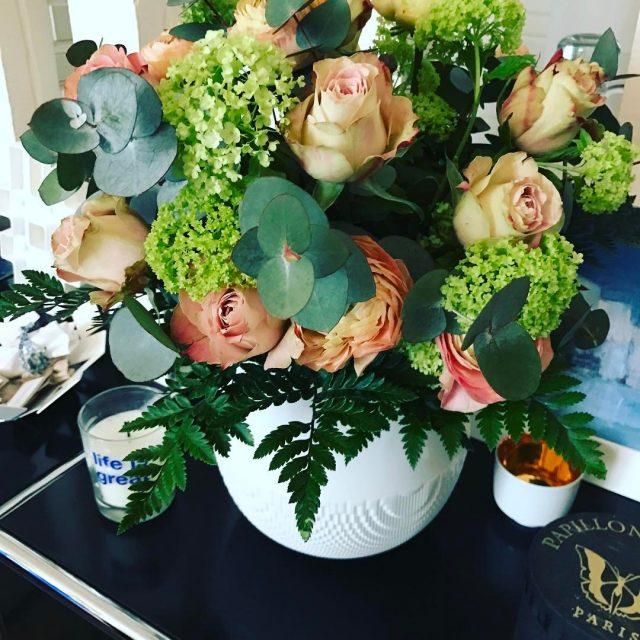 A flowery Monday with the Evolution vase! porcelainedelimoges ceramics evolutionhellip