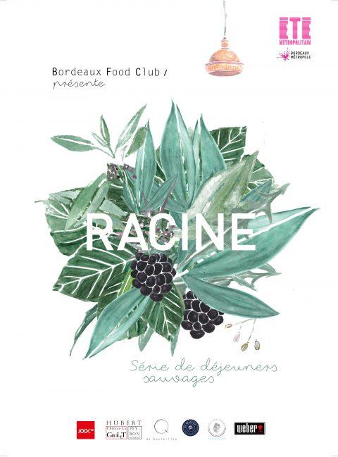Visuel Racine avec non sans raison porcelaine de limoges bordeaux food club