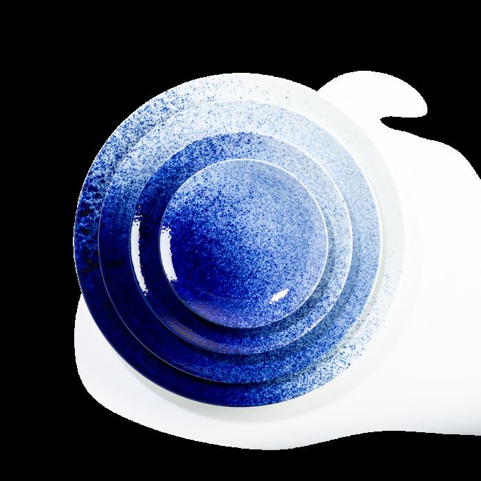 Magma bleu dégradé